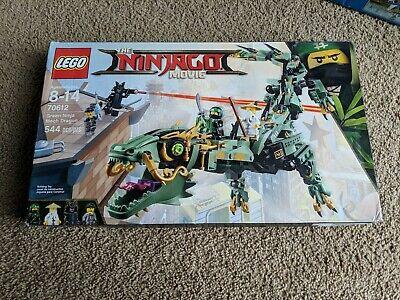 LEGO 70612 NINJAGO GREEN NINJA MECH DRAGON NEW