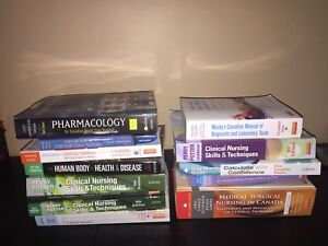 first & second year nursing textbooks