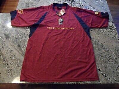 IRON MAIDEN Soccer Jersey Football shirt Official Merch Final Frontier