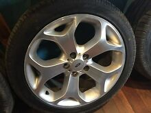"18"" fg xr6 xr8 wheels ba bf au ford falcon rims 5/114.3 Waterford Logan Area Preview"