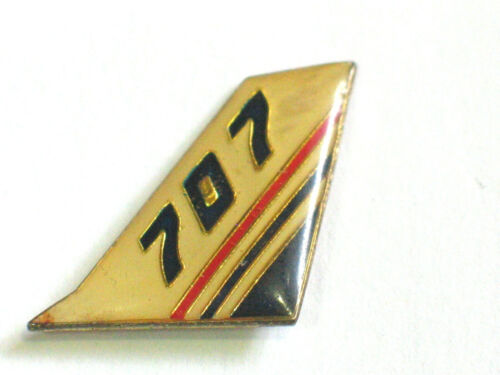 Boeing 707 Aircraft Tail Pin Vintage