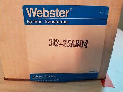 Webster 312-25ab04 Ignition Transformer
