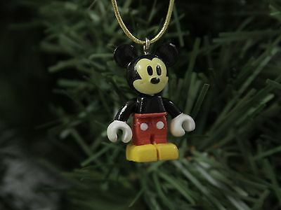 "Mickey, 'Block-Style' MICRO 1""  Disney Christmas Ornament"