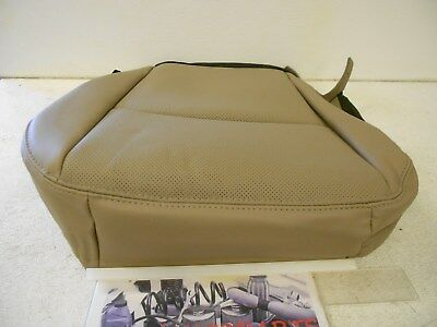 Factory OEM Genuine Mopar Front Seat Bottom Cover Left Drivers Side Leather