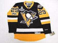 MARC-ANDRE FLEURY PITTSBURGH PENGUINS 2017 STANLEY CUP CHAMPIONS REEBOK JERSEY