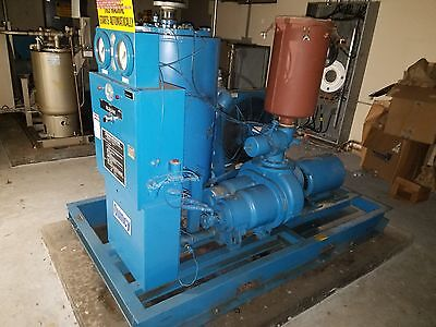 Quincy 20 Hp Vacuum Compressor Serial Qsvi 20 Ann 3 31413