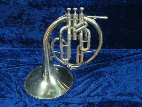 Vintage Casal F Mellophone Ser#9536 w/Eb Tuning Slide Extension Made in Italy