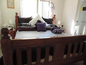 KING SOLID TIMBER BED Waterford West Logan Area Preview