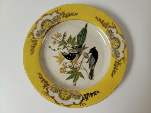 """Vintage Chinese Hua Rong Tang Zhi Decorative Plate-10.25"""""""