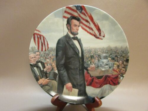 VINTAGE PLATE OF PRESIDENTS ABRAHAM LINCOLN
