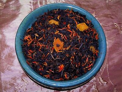 Naturally Flavored Black Tea - Tea Peach Black Fruit Symphony Flavored Loose Leaf Aged Loose Tea Blend Natural