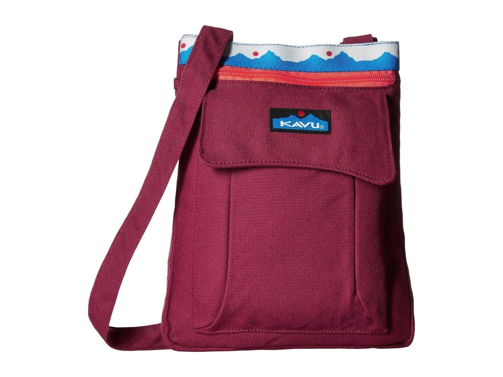 Kavu KEEPER BAG Shoulder Travel Canvas Crossbody Bag Purse R