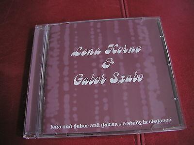 Gabor Szabo Lena Horne - Lena & Gabor Cd el rec. Cherry Red 2005 Gary McFarland