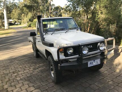 1987 Toyota Fj75 Land Cruiser ute Mount Clear Ballarat City Preview