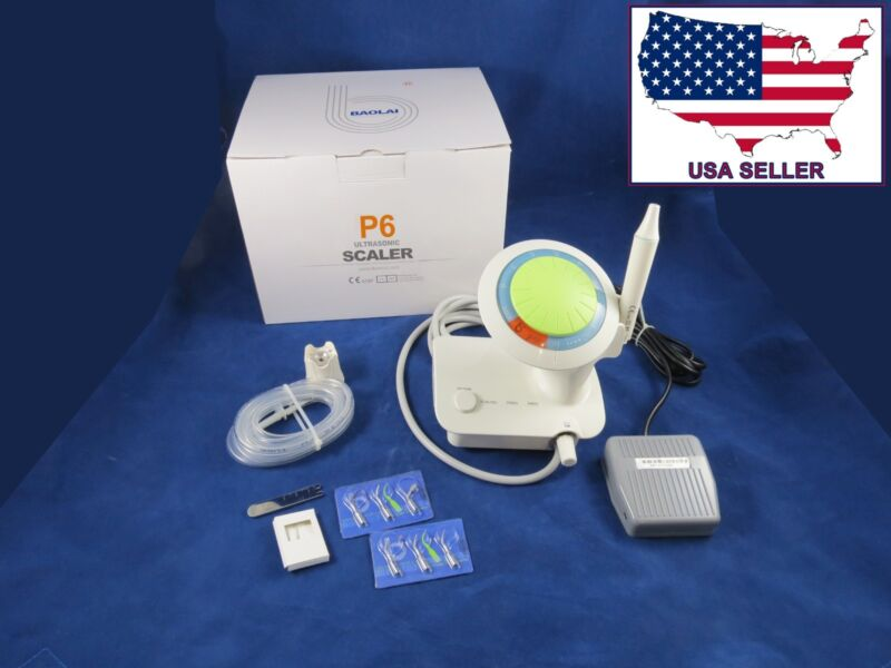 Dental Ultrasonic Scaler + 6 Tips P6 Baolai