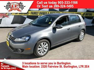 2012 Volkswagen Golf Comfortline, Automatic, Heated Seats, Diese