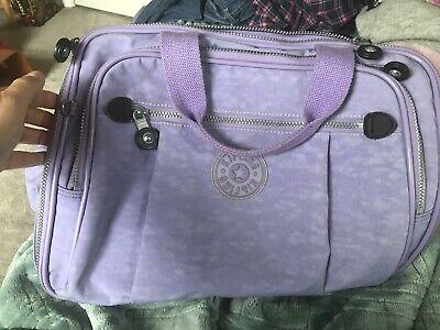 Kipling Carry On Travel Tote Purple -EUC!
