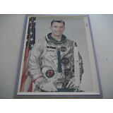 John Young Vintage NASA Red # Gemini 3 Photo - Tough