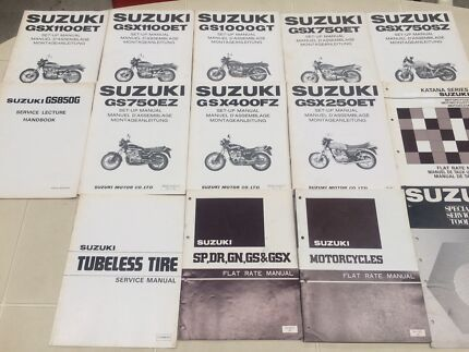 Suzuki Manuals