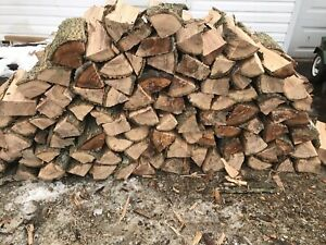 Fire wood split ash $300 a dump trailer load delivered
