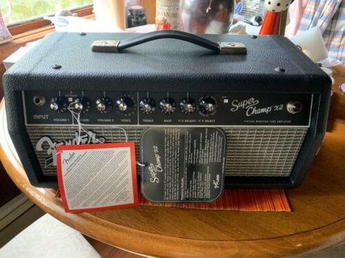 Fender Super Champ X2 Head Open Box