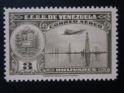 VENEZUELA  1 MINT LH OG STAMP SC # C109