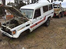 Wrecking Toyota landcruiser Hobart CBD Hobart City Preview