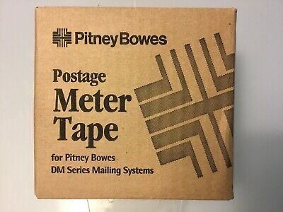 New In Box Pitney Bowes Postage Meter Tape 627-8 3 Rolls B594b595