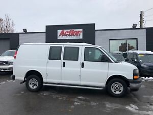 2017 GMC Savana 2500 low kms. fin or leasing available OAC