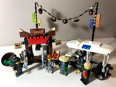 LEGO Ninjago Movie 70607 City Chase 100% complete