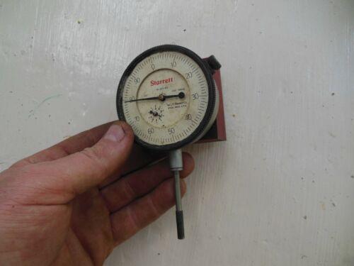 Starrett No. 655-441 Dial Indicator with .001 Grad. 1.000 Range
