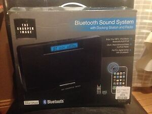 The Sharper Image Bluetooth sound system