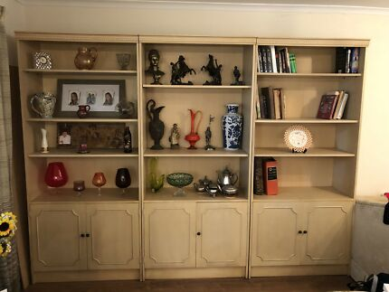 Wall Unit Display Cabinet | Cabinets | Gumtree Australia Monash Area ...
