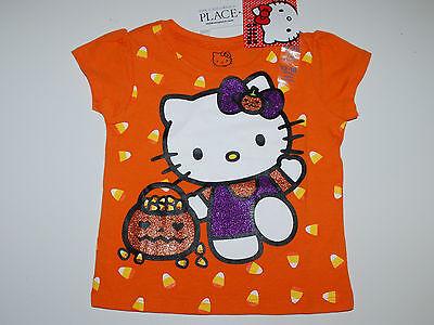 llo Kitty~orange~Glitter~Halloween~Katze~Kürbis~neu~Mädchen (Kürbisse Halloween-katze)