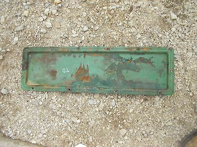 Oliver 70 Rowcrop Tractor Engine Motor Side Cover Panel Plate