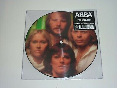 "ABBA - GIMME! GIMME! GIMME! LTD PICTURE DISC 7"" SINGLE MINT/BRAND NEW"