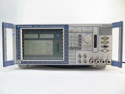 Rohde Schwarz Cmu200 Universal Radio Communication Tester 1100.0008.30 W Opts