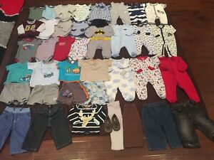 6 to 9 months baby boy lot