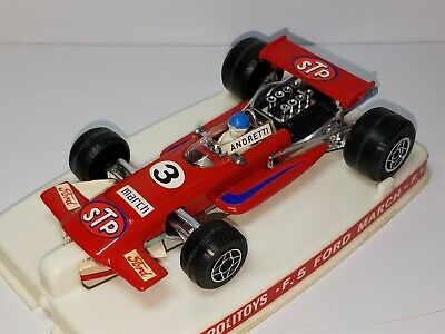 VINTAGE POLITOYS F.5 FORD MARCH ANDRETTI RED FORMULA F-1