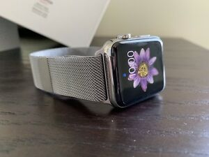 Stainless Steel Apple Watch Series 3 Cellular 42mm AppleCare+