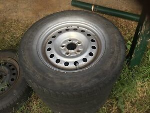 """Nissan XTrail 16"""" RWC Wheels and Tyres Barkers Creek Mount Alexander Area Preview"""