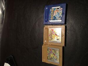 Pokemon Gold x2 and Pokemon Blue  Oakville / Halton Region Toronto (GTA) image 1