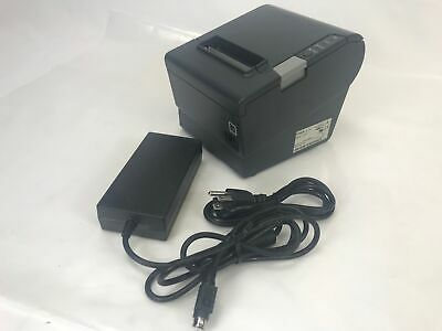 Epson Tm-t88v M244a Serial Usb Receipt Printer W Ps-180 Supply Free Shipping