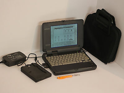 "COMPAQ CONTURA AERO 4/25, ORIGINAL WINDOWS 3.1 ""COMPAQ"" - VINTAGE, 100% WORKING"