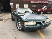 1990 Ford Mustang LX ConV LIMITED ONLY $ 8900 CERT  25TH EDITION London Ontario Preview