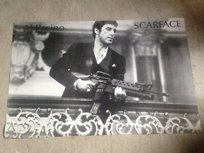 "Scarface- Al Pacino, Tony Montana,  24"" x 36"" poster print black and white"