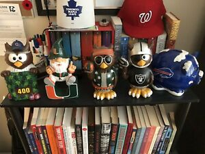 Sports gnomes and piggy bank
