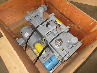 Air Hydraulic Systems - Vickers Marzocchi Lubrication Pump W Cooling - Free Ship