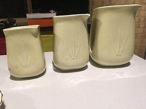 Set of Wembleyware jugs Stoneville Mundaring Area Preview