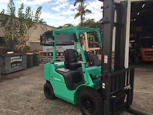 Diesel Forklift, Mitsubishi 2.5Ton. Late Model Forktruck Moffat Beach Caloundra Area Preview